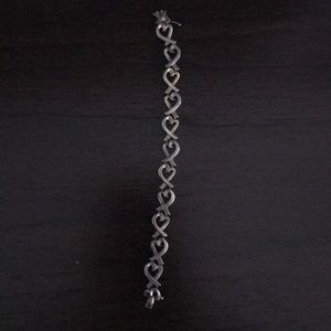 Tiffany and Co Picasso Loving Heart Bracelet